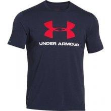 Under Armour pánske sportstyle tričko tmavomodré