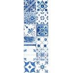 Rako Dekor Majolika modrá 19,8x59,8 cm, lesk FINEZA45928