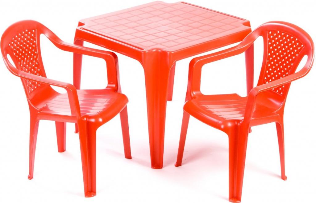 96ac978c6c989 Grand Soleil sada stoleček a dvě židličky červené od 15,01 € - Heureka.sk