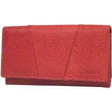 Lagen Dámská červená kožená peňaženka Red PWL-388/W-4