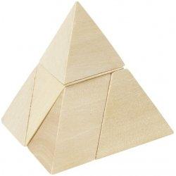 Goki hlavolam Pyramída s 3 stranami