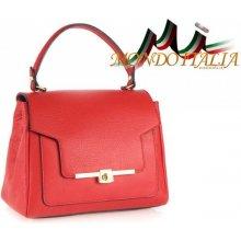 785bf8aa6303 Made In Italy kožená kabelka do ruky 657 červená