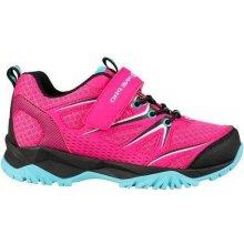 ALPINE PRO Dievčenské outdoorové topánky Talish ružové