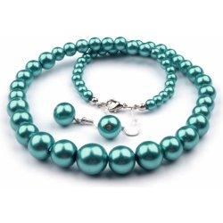 22d2ca2d2 Perličkový set náhrdelník a náušnice st075 bižutéria alternatívy ...