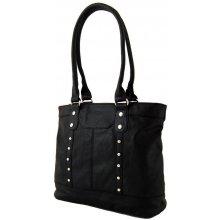 Sun-bags Zdobená kroko kabelka na rameno BH148 černá