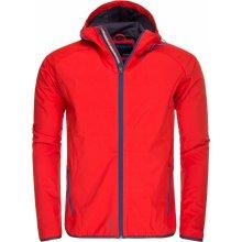 Husky SALLY pánská červená softshell bunda červená 0c72e7854a7