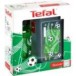 Tefal Kids sada dóza plast+fľaša tritan zelená futbal
