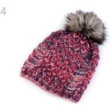 5aa38647c Dámska zimná čiapka s brmbolcom béžová tm. 1ks