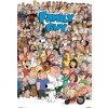 POSTERS Plagát FAMILY GUY - characters , (61 x 91 cm)