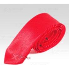 Saténová kravata Wayfarer červená 556