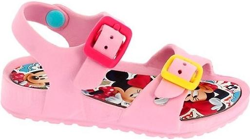 f3f3a1131cac Disney by Arnetta Dievčenské gumové sandále Minnie svetlo ružové  alternatívy - Heureka.sk
