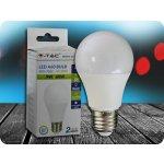 V-TAC E27 LED 9W žiarovka A60 Denná biela
