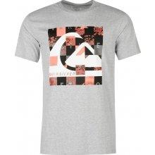 Quiksilver Pixel Short Sleeve T Shirt Mens Grey