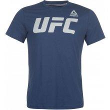 c7d7f822374 Reebok UFC T Shirt Mens Blue White