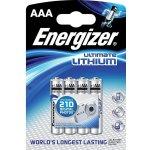 Batéria Energizer Ultimate Lithium AAA 4 ks