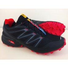 Pánska trailová obuv 2915MJ Červená Čierna