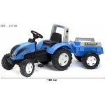 Falk Šliapací traktor 1050B Landini Power Mondial s vlečkou