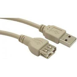Kábel USB 2.0 A/A Predlžovací 0,75m