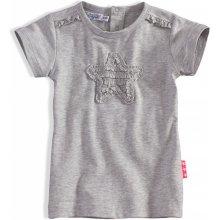 Detské tričko Dirkje PINKY STAR sivé b8ca62c10cf