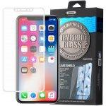 Púzdro REMAX CAESAR sklo predné + zadné iPhone X / XS biele