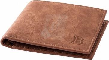 Peňaženka Klasická pánská peněženka v hnědé barvě - Zoznamtovaru.sk 6335ea603f