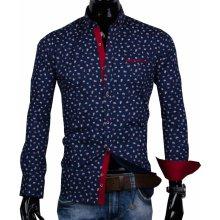 a71587b23df2 30016-EM-329 Pánska košeľa EGO MAN s trendovým vzorom