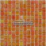 MOSAGRES MSM54 Mozaika sklo Multimix 300x300x4mm oranžová
