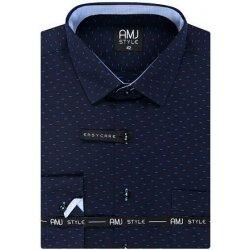 6c04ab338cd7 AMJ Style Pánská košile VDZ 1019 tm.modrá alternatívy - Heureka.sk