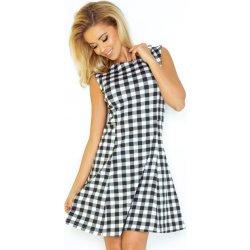 b7aac1b78475 Kárované šaty áčkového strihu 137-4 od 34