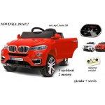 Joko elektrické autíčko štýl BMW X6 3 rýchlosti červené 2 x motor 12 V 2 x batéria 6V 45Ah