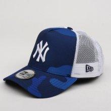 9a9f2b75c New Era 9FO Camo Color Trucker MLB New York Yankees Navy Camo/White