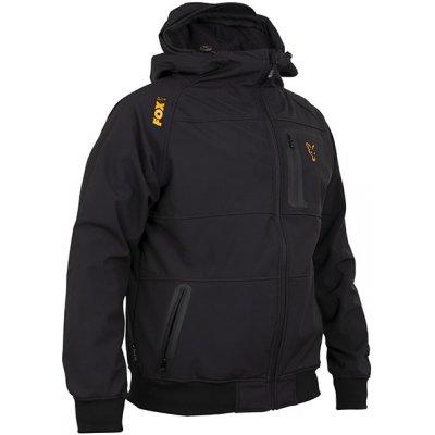 Fox Bunda Collection Black/Orange Shell Hoodie