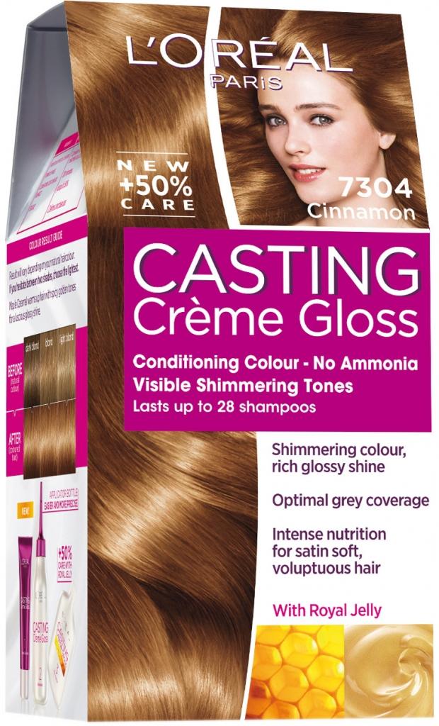 L Oréal Casting Creme Gloss 7304 Škoricová od 3 6889f2d9b05