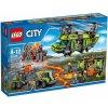 LEGO CITY 60125 Sopečná nákladná helikoptéra