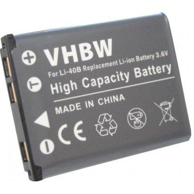 VHBW Olympus Li-40B , li-40 batéria - neoriginálne