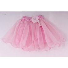 Dievčenská sukňa tylová ružová