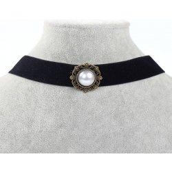 39deef23b TrendyVeci Čierny choker náhrdelník - perla TV255 od 3,90 € - Heureka.sk