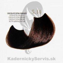Fanola Oro puro profesionálna bezamoniaková farba na vlasy 5.14 extra horká  čokoláda 100 ml ae284a294f8