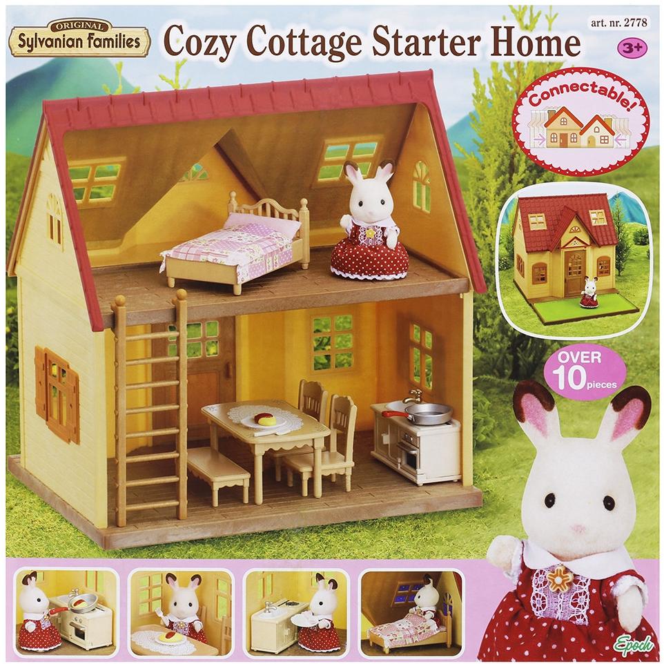 6d296ae829 Sylvanian Families Základné poschodový dom s príslušenstvom verzia 2014