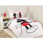 Jerry Fabrics bavlna obliečky Mickey hearts 2016 140x200 70x90