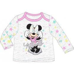 4fb5212d5 E plus M Dievčenské tričko Minnie s bodkami - biele alternatívy ...