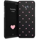 Púzdro i-Paint - HARD CASE Sweety Samsung Galaxy S8+ čierne