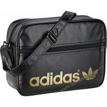 Adidas AC Airliner Black/Metallic Gold 17 L
