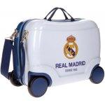 Detský kufrík na kolieskach Real Madrid Futbol Time white 25 l