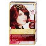 L'Oréal Excellence Creme krémová farba na vlasy 6,66 intenzívne červená