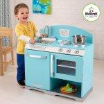 KidKraft kuchynka BLUE RETRO STOVE 53252
