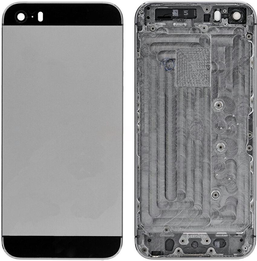 Kryt na mobilný telefón Kryt Apple iPhone SE zadný sivý ... 13bdbbc8a9e