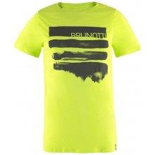 Brunotti Seashell Men T Shirt Acid lime Zelená