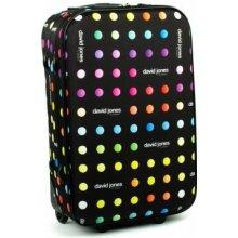 David Jones 1008 cestovný kufor malý 36x19x55 cm barva mix