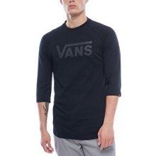 VANS tričko Vans Classic Raglan Black Black V002QQBKA 10153b1f97e